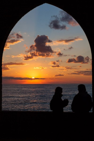 Watching the Sunset
