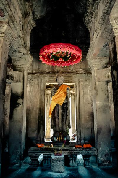 Temple God at Angkor Wat