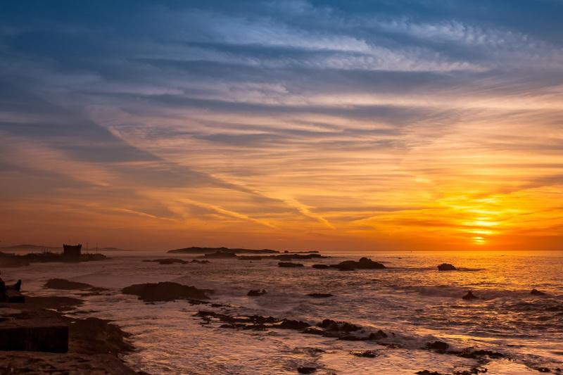 Sunset at Essaouira
