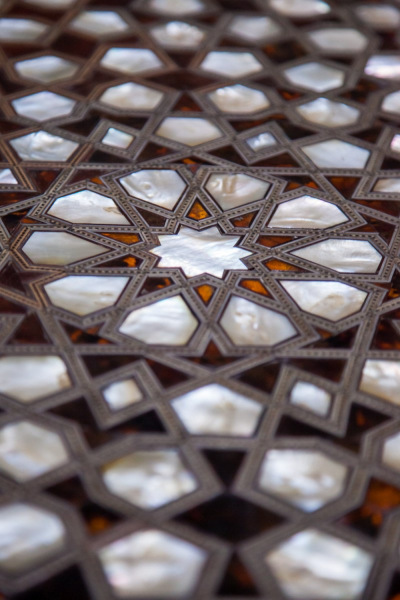 Mother of Pearl Shutters