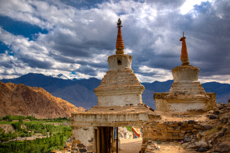Mountain Stupas