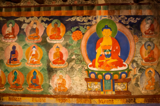 Temple Frescoes