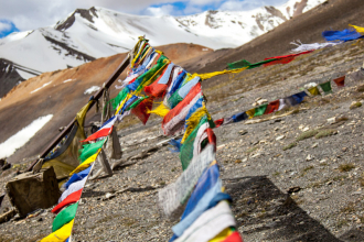 Prayer Flags at the Pass