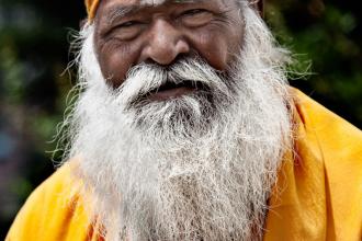 Hindu Monk (redux)