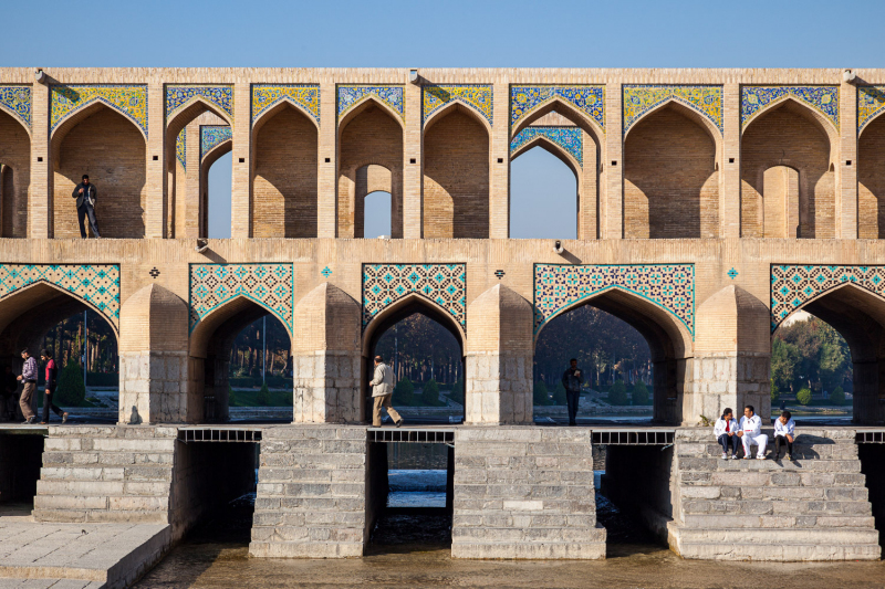 Bridge on the River Zayandeh