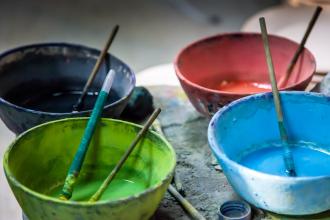 Coloured Glazes