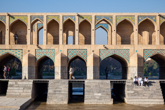 Bridge on the River Zayandeh