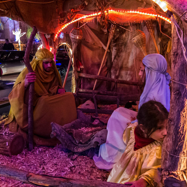 Nativity Float