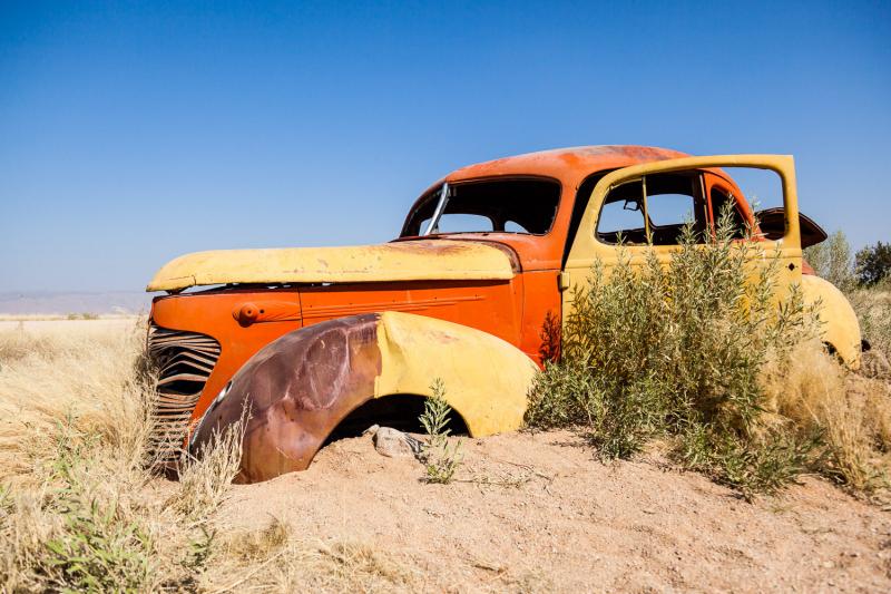 Desert Wreck (II)