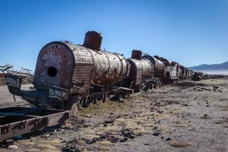 Railway Graveyard (II)