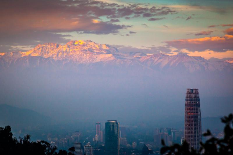 Santiago Mountain Sunset