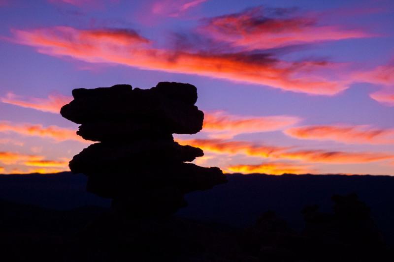 Rocks at Sunset (II)