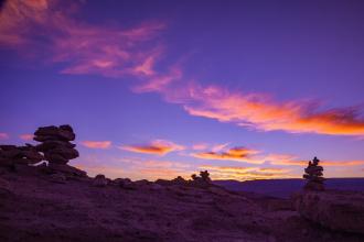 Rocks at Sunset (I)