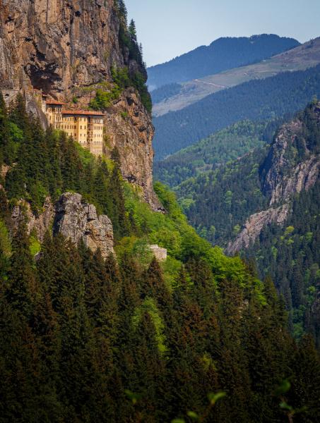 Cliff Edge Monastery