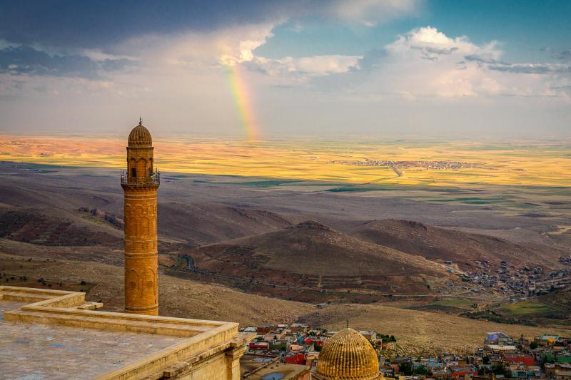 Rainbow Over Syria