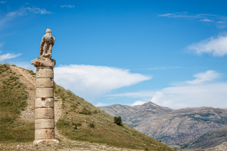 Pillar and Eagle