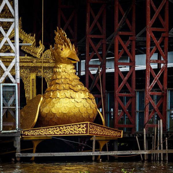 Golden Duck Boat
