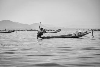 Inle Boatmen