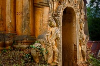 Stupa Entrance