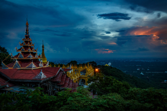 Mandalay Hill Twilight