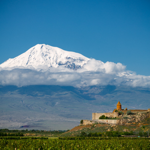 Khor Virap and Ararat
