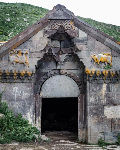 Caravanseri Entrance