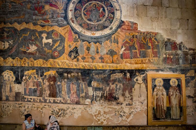 Svetitskhovei Cathederal Murals