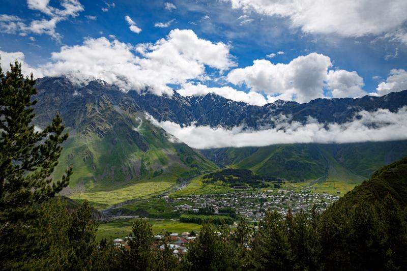 Kazbegi Village