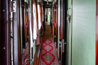 Inside Stalins Train