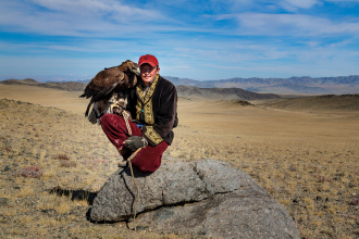 Young Eagle Hunter
