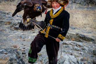 A Girl and Her Eagle