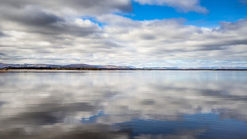 Reflections on Lake Corrib