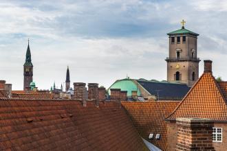 Rooftop of Copenhagen