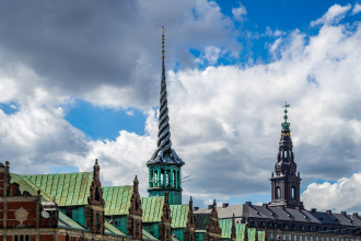 View Towards Christiansborg Palace