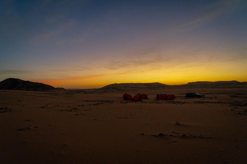 Wild Camp Sunrise