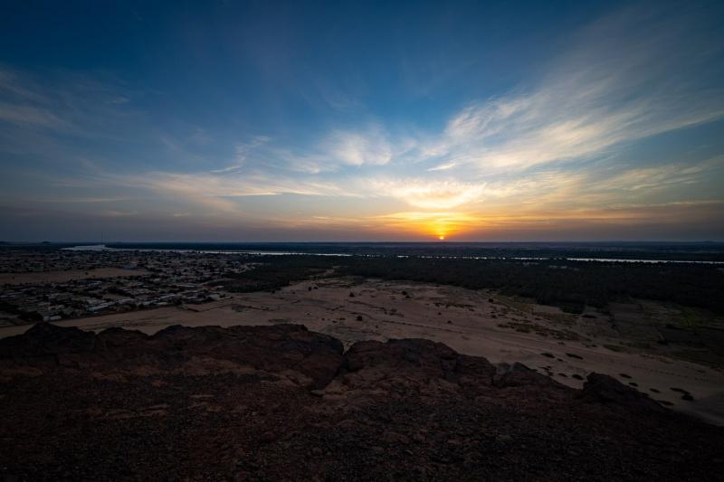 On Top of Jebel Barkal